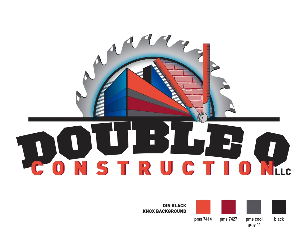 Logo Design for Double-O Construction