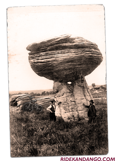 Mushroom Rock Social Share to Go with Blog Post