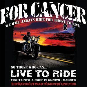 Biker Tee Not For Profit Cancer Fund