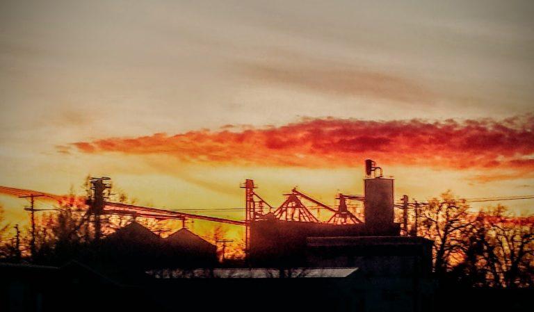 Kansas Sky, Junky Photo, Google Filters to Grungify