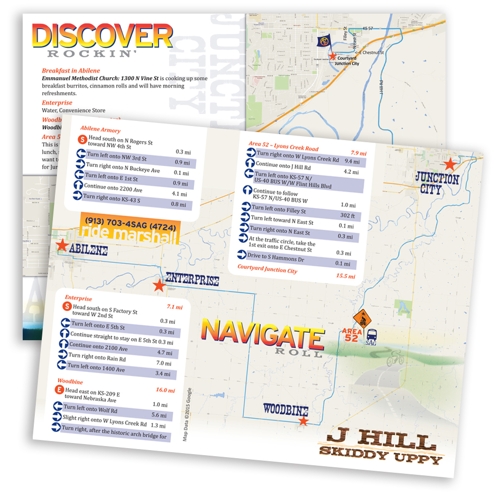 Another Day, Another Rider Map, PDF for print or download
