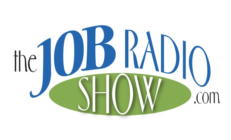 Another Job Radio Show Logo Design Option
